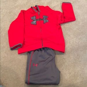 Toddler boy under armour marching set
